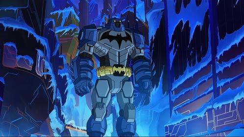 «Безграничный Бэтмен: Роботы против мутантов» — кадри