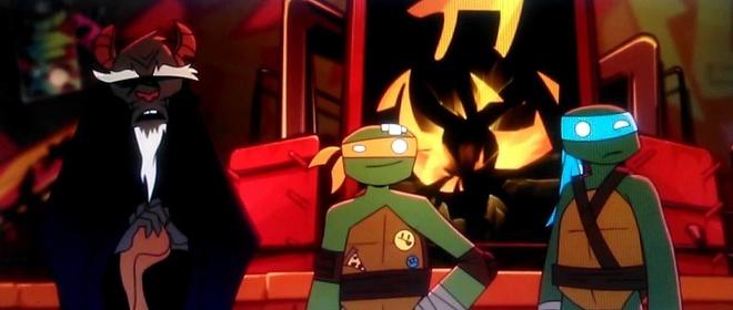 «Черепашки-ниндзя: Дони против Рафа» — кадры