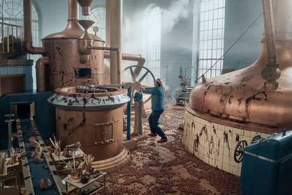 «Папа Молл и шоколадная фабрика» — кадры