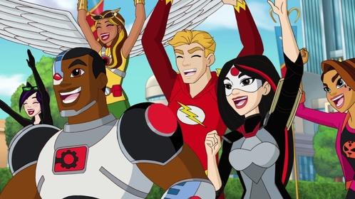 «DC дівчата-супергерої: Міжгалактичні ігри» — кадри