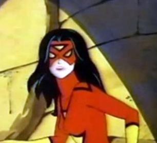 «Женщина-паук» — кадри