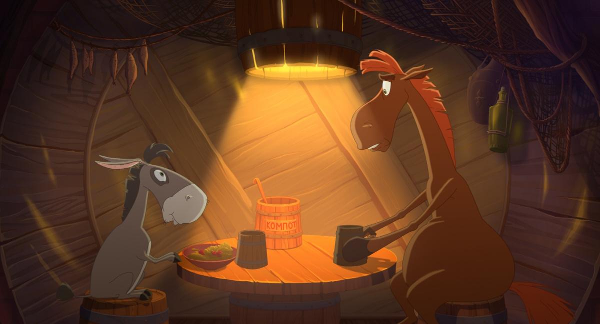Мультфильм «Конь Юлий и большие скачки» (2020): Дмитрий Высоцкий 1200x649