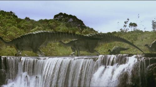 «Прогулянки з динозаврами» — кадри