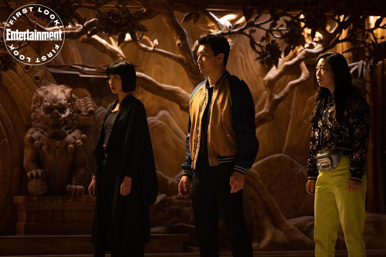 Фильм «Шан-Чи и легенда Десяти колец» (2021): Чэнь Фала, Симу Лю, Аквафина 1500x1000