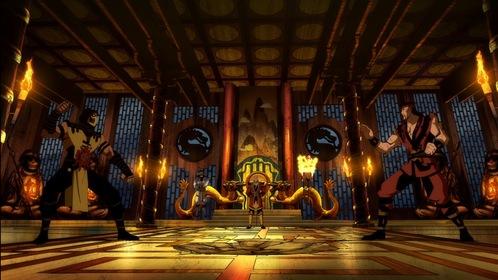 «Легенды «Смертельной битвы»: Месть Скорпиона» — кадры