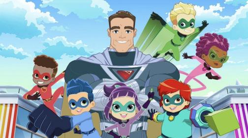 «Супергеройский детский сад» — кадри