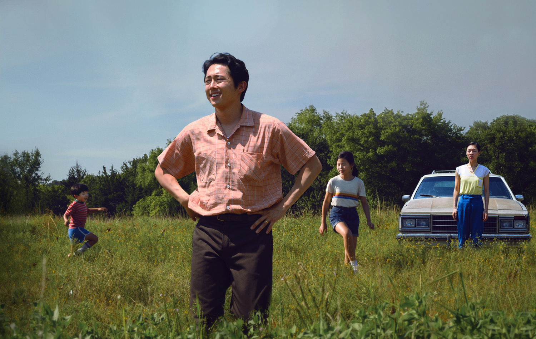 Фильм «Минари» (2020): Алан С. Ким, Стивен Ян, Ноэль Чо, Хан Е-ри 1500x948