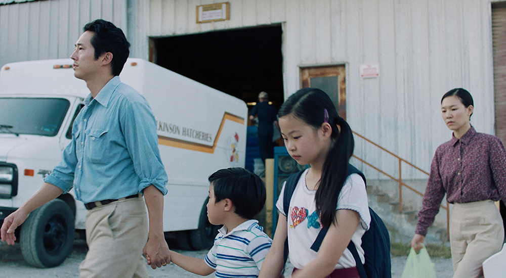 Фильм «Минари» (2020): Стивен Ян, Алан С. Ким, Ноэль Чо, Хан Е-ри 1000x550