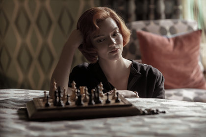 «Ход королевы» — кадры