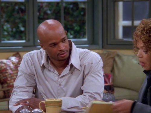 Серіал «Моя дружина й діти» (2001 – 2005): Деймон Уайанс, Тіша Кемпбелл 2 сезон, 11 епізод — «Letting Go» 500x375
