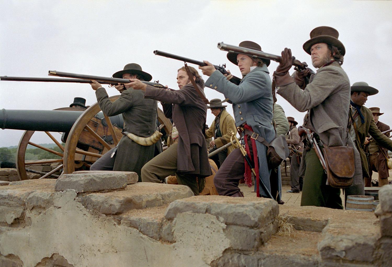 Фільм «Форт Аламо» (2004): Біллі Боб Торнтон, Патрік Вілсон, Кевін Пейдж, Едвін Ходж, Кевин Пейдж 1500x1021