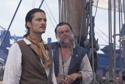 «Пірати Карибського Моря: Прокляття Чорної перлини» — кадри