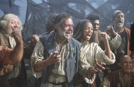 «Пираты Карибского моря: Проклятие Черной жемчужины» — кадры