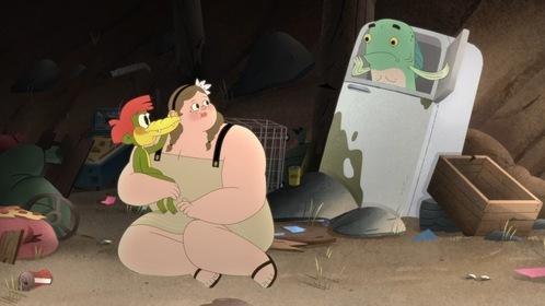 «Арло, мальчик-аллигатор» — кадры