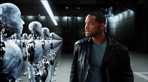 «Я, робот» — кадры