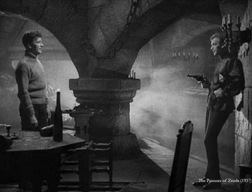 «Узник крепости Зенда» — кадры