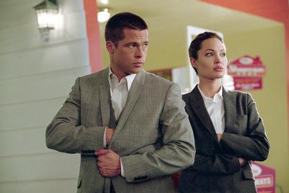 «Містер і місіс Сміт» — кадри