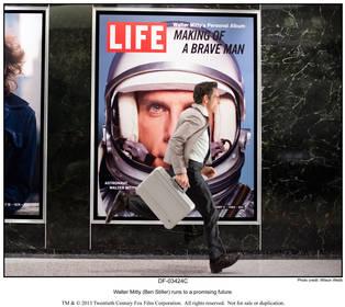 «Невероятная жизнь Уолтера Митти» — кадры