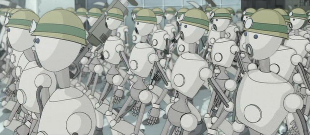 Мультфільм «Аниматрица: Второе возрождение – Часть 1» (2003): 1000x437