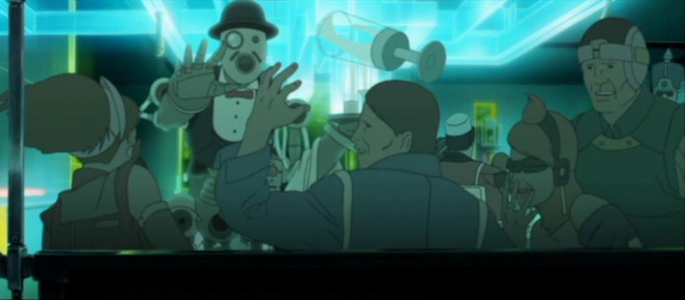 Мультфільм «Аниматрица: Второе возрождение – Часть 1» (2003): 1000x438