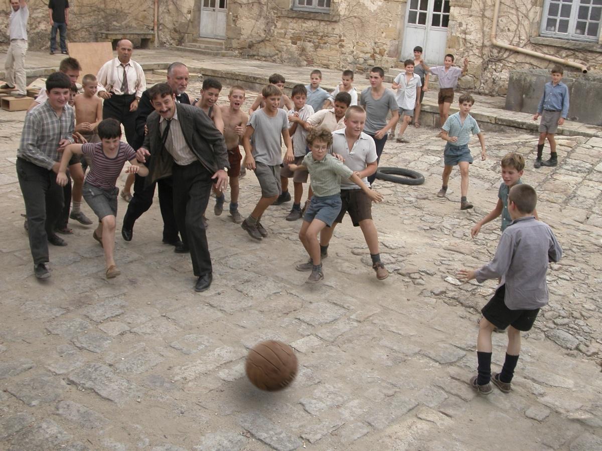 Фильм «Хористы» (2004): Жерар Жюньо, Кад Мерад 1200x900