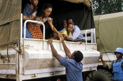 «Готель Руанда» — кадри