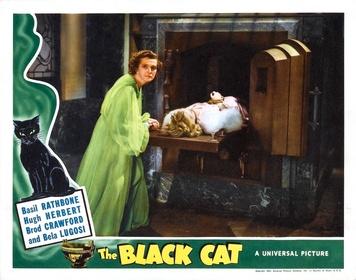 «Чёрный кот» — кадры