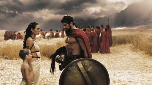 «300 спартанцев» — кадры
