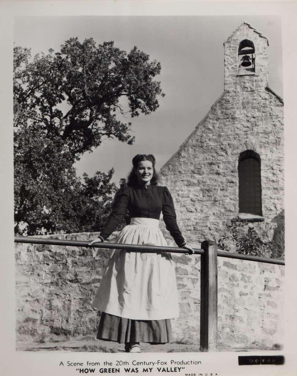Фильм «Как зелена была моя долина» (1941): Морин О'Хара 1000x1266