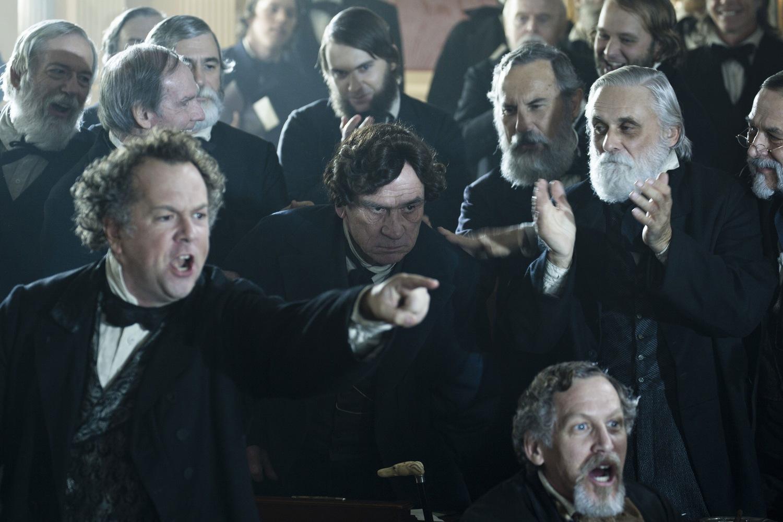Фильм «Линкольн» (2012): Дэвид Костабайл, Томми Ли Джонс 1500x1000