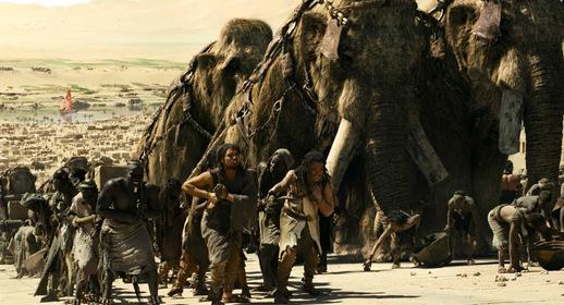 «10 000 років до нашої ери» — кадри