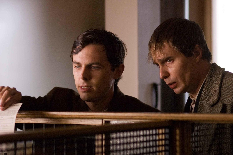 Фильм «Как трусливый Роберт Форд убил Джесси Джеймса» (2007): Кейси Аффлек, Сэм Рокуэлл 1500x998