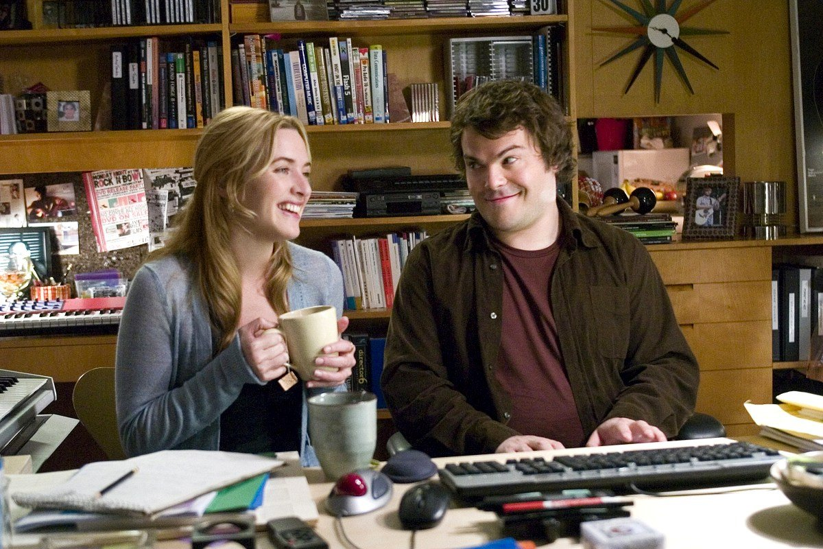 Фільм «Відпочинок за обміном» (2006): Кейт Вінслет, Джек Блeк 1200x800