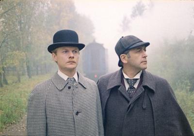 «Пригоди Шерлока Холмса й доктора Ватсона: Смертельний двобій» — кадри