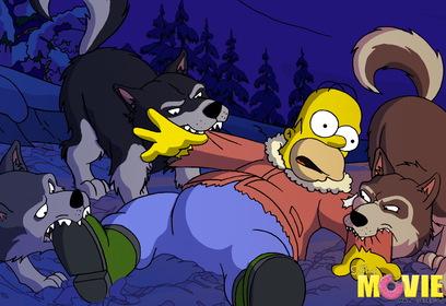 «Симпсоны в кино» — кадры