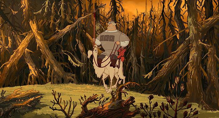 Мультфильм «Добрыня Никитич и Змей Горыныч» (2006): Валерий Соловьев, Юрий Тарасов 700x378