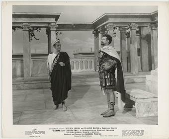 «Цезарь и Клеопатра» — кадри