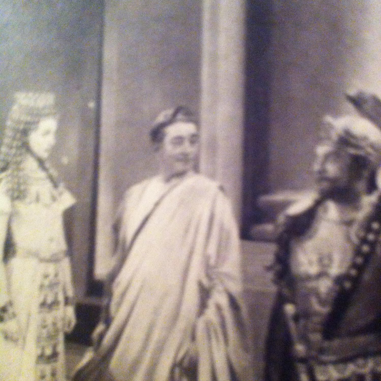Фільм «Цезарь и Клеопатра» (1945): Клод Рэйнс, Бейзіл Сідні, Вів'єн Лі 1500x1500