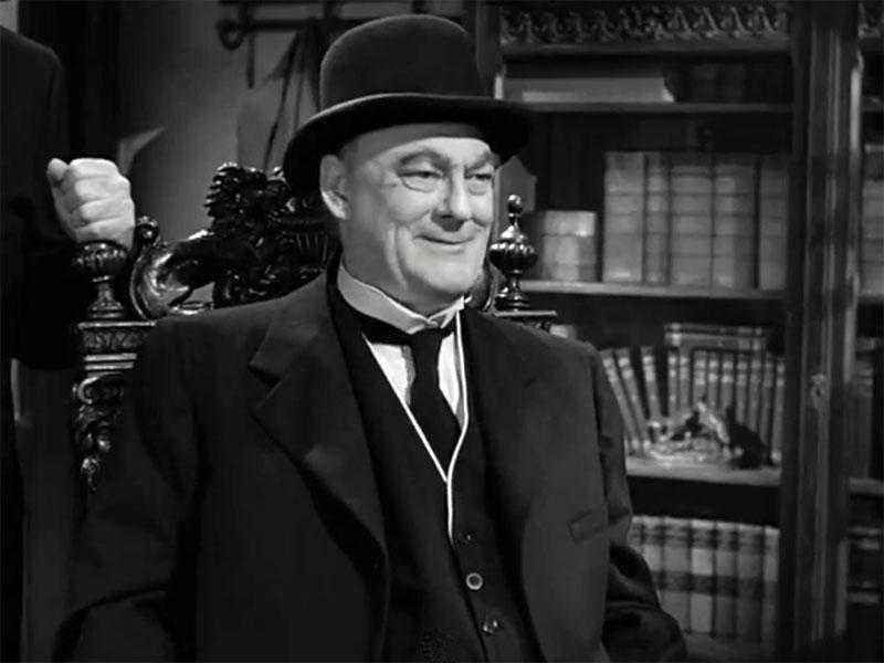 Фильм «Эта замечательная жизнь» (1946): Лайонел Бэрримор 800x600