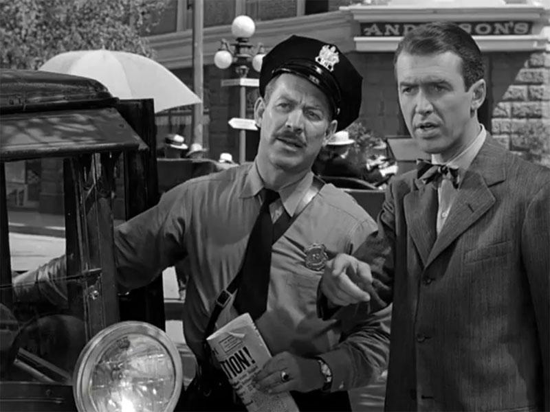 Фильм «Эта замечательная жизнь» (1946): Уорд Бонд, Джеймс Стюарт 800x600