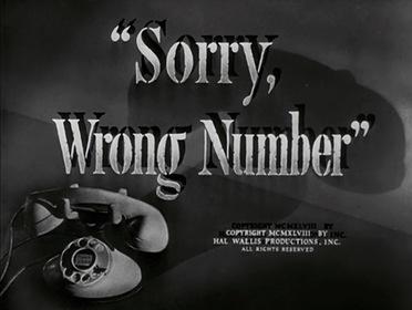 «Извините, ошиблись номером» — кадры