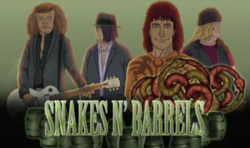 Серіал «Металлопокалипсис» (2006 – 2013): Майк Паттон 2 сезон, 16 епізод — «Снейкс-энд-бэррэлс 2: Часть 1» (Snakes n' Barrels II (1)) 500x297