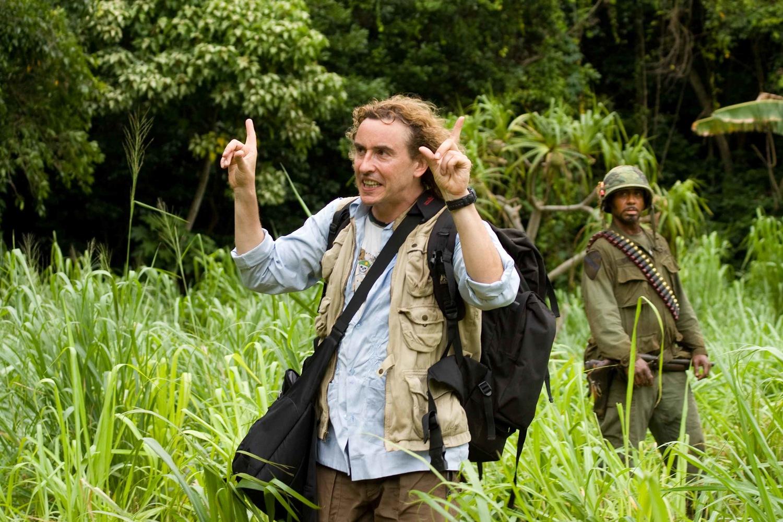 Фільм «Грім у тропіках» (2008): Роберт Дауні-молодший, Стів Куґан 1500x1001