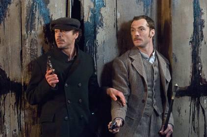 «Шерлок Холмс» — кадры