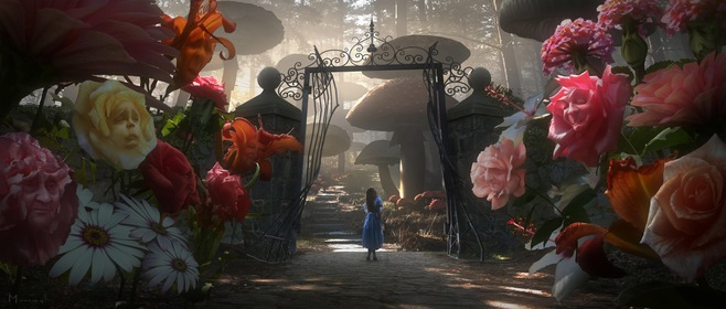 «Аліса в країні чудес» — кадри
