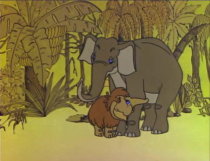 Мультфільм «Мати для маленького мамонта» (1981): 688x528