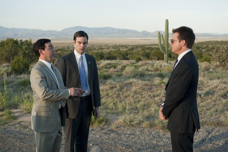 Фильм «Пол: Секретный материальчик» (2011): Джейсон Бейтман, Билл Хейдер, Джо Ло Трульо 1500x998