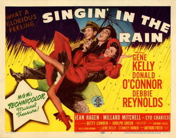 «Співаючи під дощем» — кадри