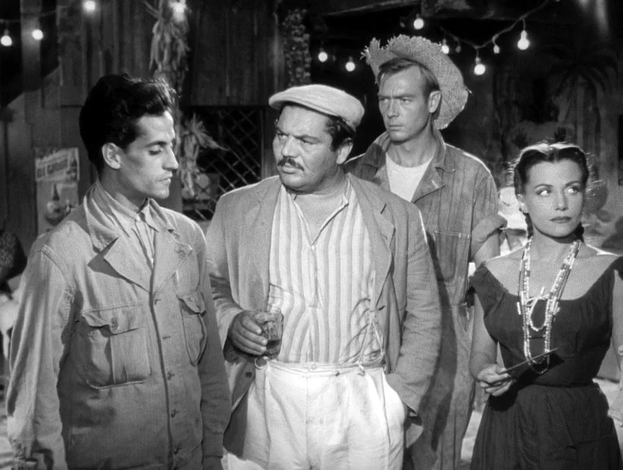Фільм «Плата за страх» (1953): Луїш де Ліма, Фолько Люллі, Джеронімо Мітчелл, Вера Клузо 1280x966