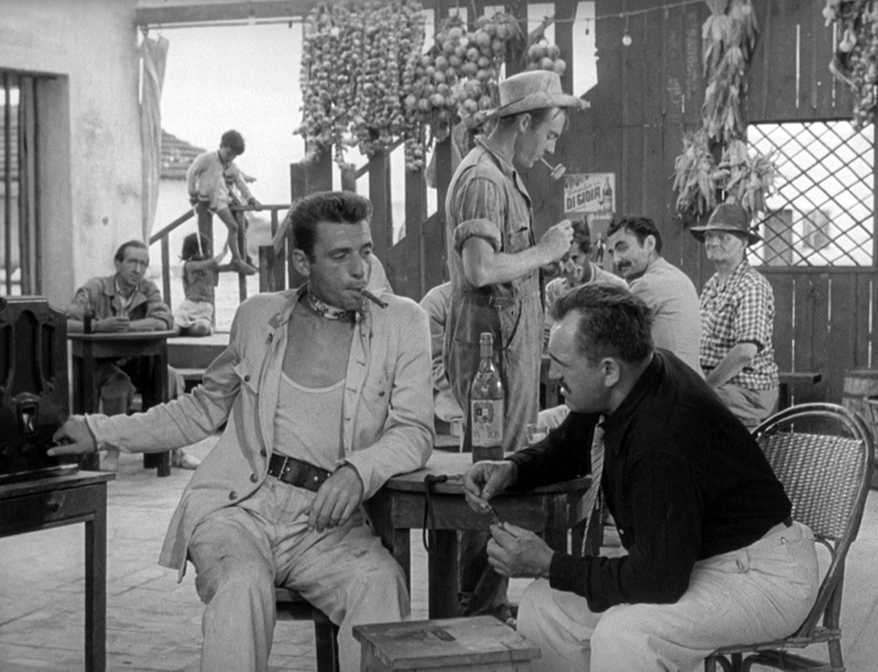 Фільм «Плата за страх» (1953): Ів Монтан, Джеронімо Мітчелл, Чарльз Ванель, Джо Дест 1280x980